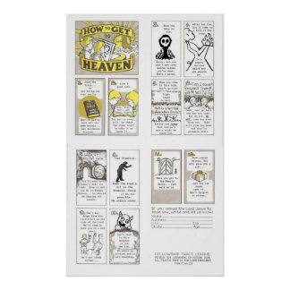 HOW TO GET TO HEAVEN POSTER