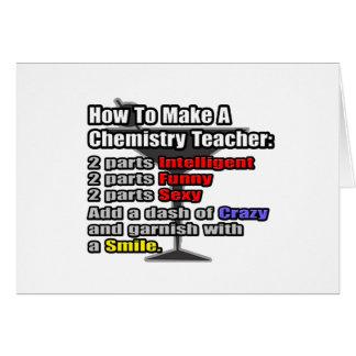 How To Make a Chemistry Teacher Card