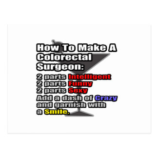 How To Make a Colorectal Surgeon Postcard