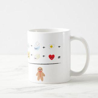 How to make a gingerbread man coffee mug