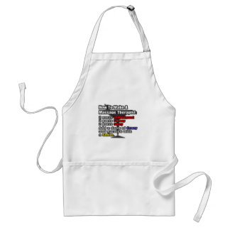 How To Make a Massage Therapist Standard Apron