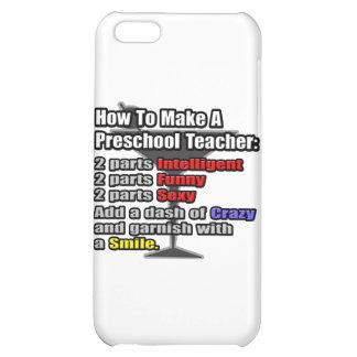 How To Make a Preschool Teacher iPhone 5C Cover