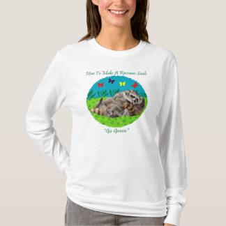 How To Make A Raccoon Smile Tshirt