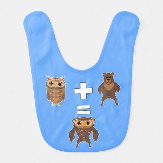 How to make an Owlbear Bib
