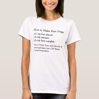How to Make Hsin Vega T-Shirt