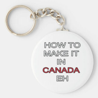 HOW TO MAKE IT IN CANADA EH! KEYCHAIN