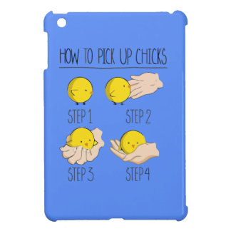 How to pick up of chicks cover for the iPad mini