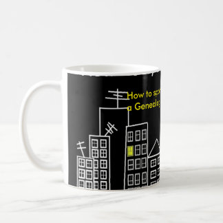 How To Spot A Genealogist mug