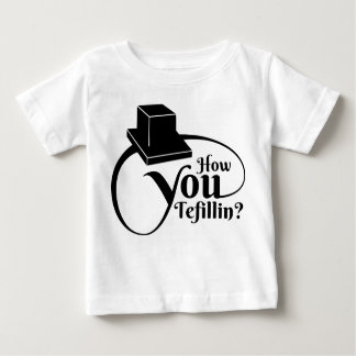 How You Tefillin - Black Baby T-Shirt