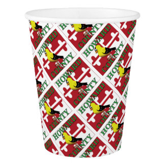 HOWARD COUNTY with goldfinch Paper Cup