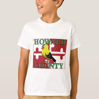 HOWARD COUNTY with goldfinch T-Shirt