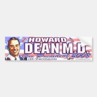 Howard Dean '08 Bumper Sticker