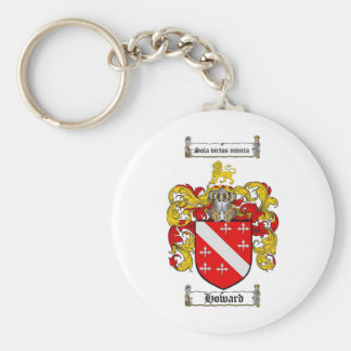 HOWARD FAMILY CREST -  HOWARD COAT OF ARMS KEYCHAIN