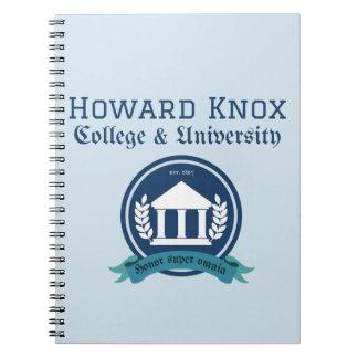 Howard Knox Notebook