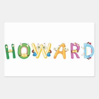 Howard Sticker