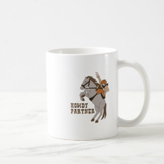 Howdy Partner Coffee Mug