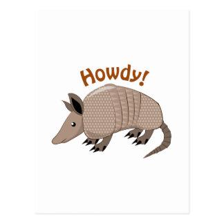 Howdy Postcard