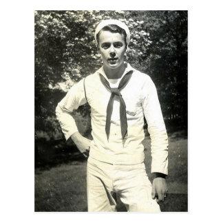 Howdy Sailor Postcard