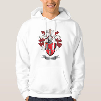 Howell Family Crest Coat of Arms Hoodie