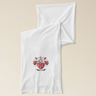 Howell Family Crest Coat of Arms Scarf
