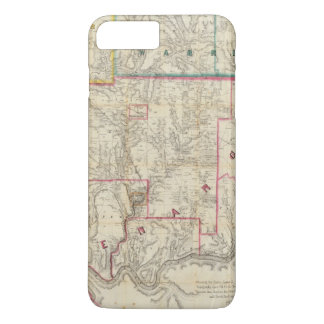 Howe's Map of The Oil District of Pennsylvania iPhone 7 Plus Case