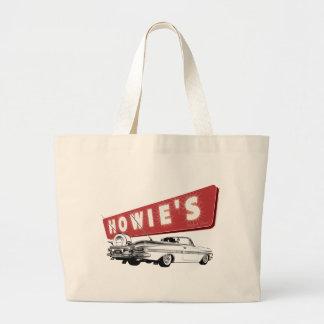 Howie's Drive-In Stratford CT Jumbo Tote Bag