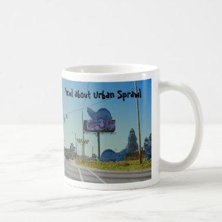 Howl about Urban Sprawl Mug