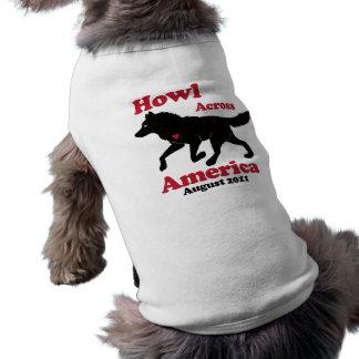 Howl Across America Doggie Sweater Shirt