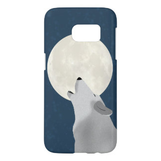 Howl At The Moon Samsung Galaxy S7, Barely There Samsung Galaxy S7 Case