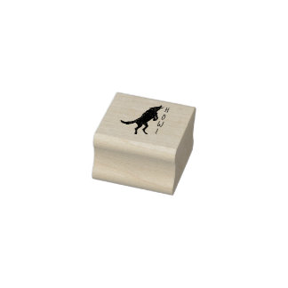 Howl Rubber Stamp