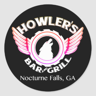 Howler's Decal Classic Round Sticker