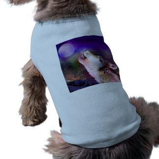 Howlin wolf - moon wolf - head wolf shirt