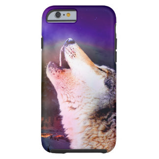 Howlin wolf - moon wolf - head wolf tough iPhone 6 case