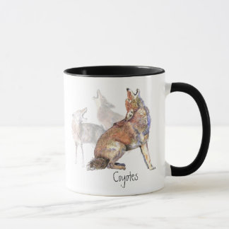 Howling Coyote Coffee Mug