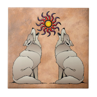 HOWLING COYOTE TILE