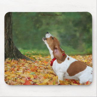 Howling Dog Mouse Pad