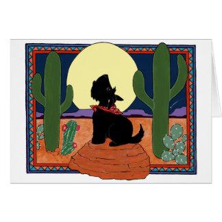 Howling Scot Card