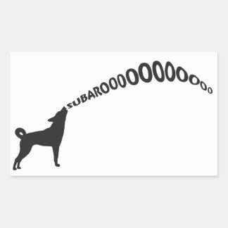 Howling Subaru Dog