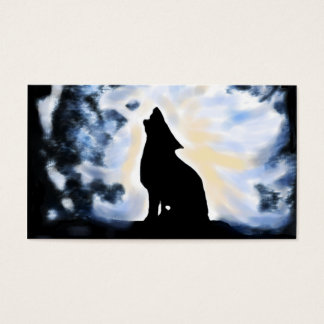 howling up a storm business card