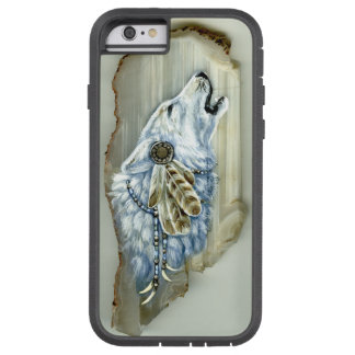 Howling White Wolf Tough Xtreme iPhone 6 Case