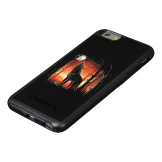 Howling Wolf at Sunset OtterBox iPhone 6 Plus Case