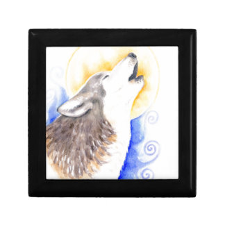 Howling Wolf Gift Box