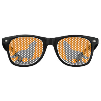 Howling wolf glasses party shades
