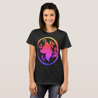Howling Wolf Illusion T-Shirt