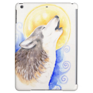 Howling Wolf iPad Air Covers
