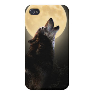howling wolf ipod touch case iPhone 4/4S case