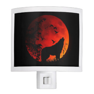 Howling Wolf Night Light