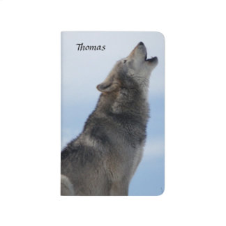Howling Wolf Notebook