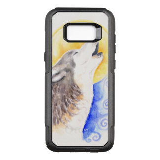 Howling Wolf OtterBox Commuter Samsung Galaxy S8+ Case