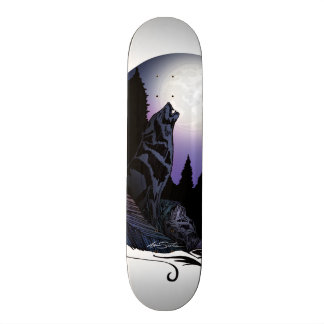 Howling Wolf Skate Board Deck